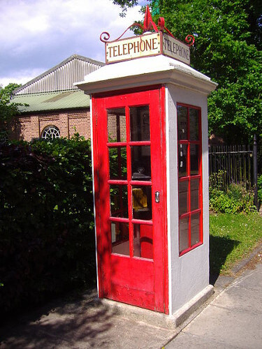 Cabines téléphoniques rouges modèle K1