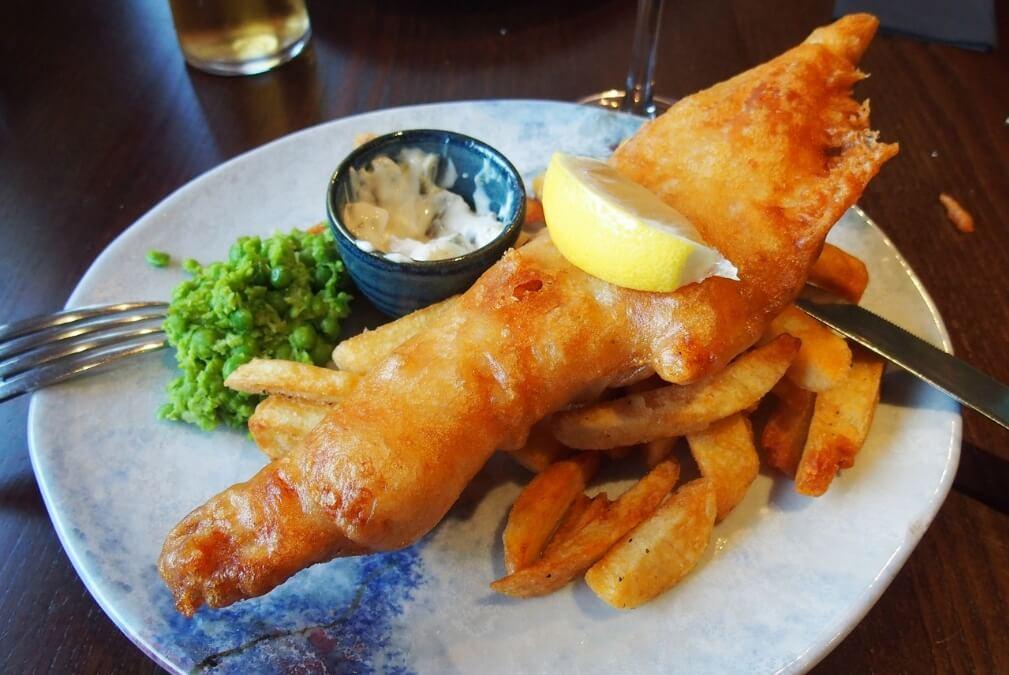 Fish & Chips à la Guinness