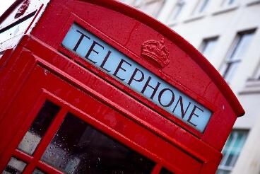 Cabine téléphonique rouge Londres
