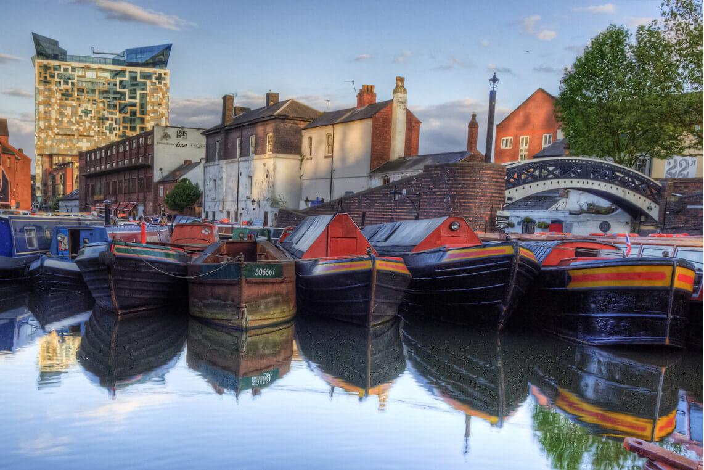 Birmingham et ses canaux