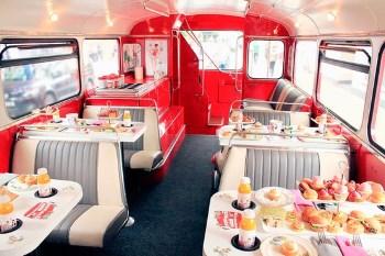 Afternoon Tea Bus B Bakery